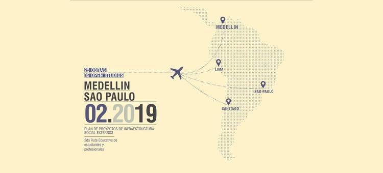 Tour Arquitectura 2019 Plan Pise: Medellín / Sao Paulo , Cortesía de PISE