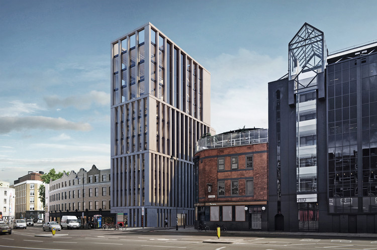 Redeveloping Shoreditch With Responsive Cohesion, Courtesy of Douglas and King Architects