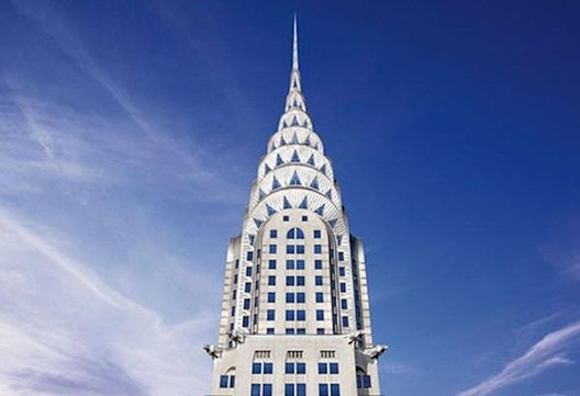 Chrysler Building. Image Courtesy of Tishman Speyer