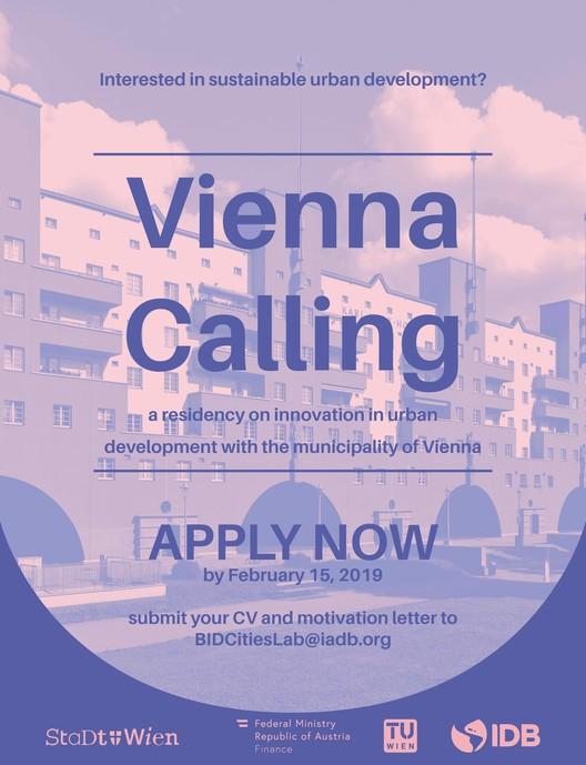 Vienna Calling: postula a una residencia sobre innovaciones en desarrollo urbano en Viena, Tamara Egger