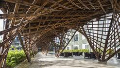 Pabellón de bambú Vinata / VTN Architects