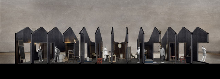 """The Unfolding Village"" Exhibition Celebrates Vanishing Cultures of Gossip and Eavesdropping, Courtesy of Neri&Hu"