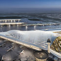 O'Hare International Airport expansion. Image Courtesy of Santiago Calatrava