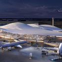 O'Hare International Airport expansion. Image Courtesy of Fentress-EXP-Brook-Garza