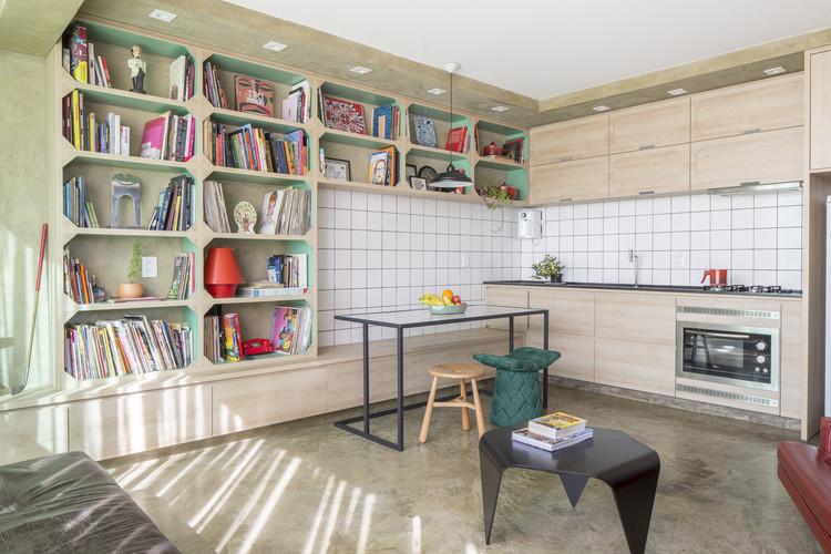 Apartamento Gomez / Semerene Arquitetura Interior, © Joana França