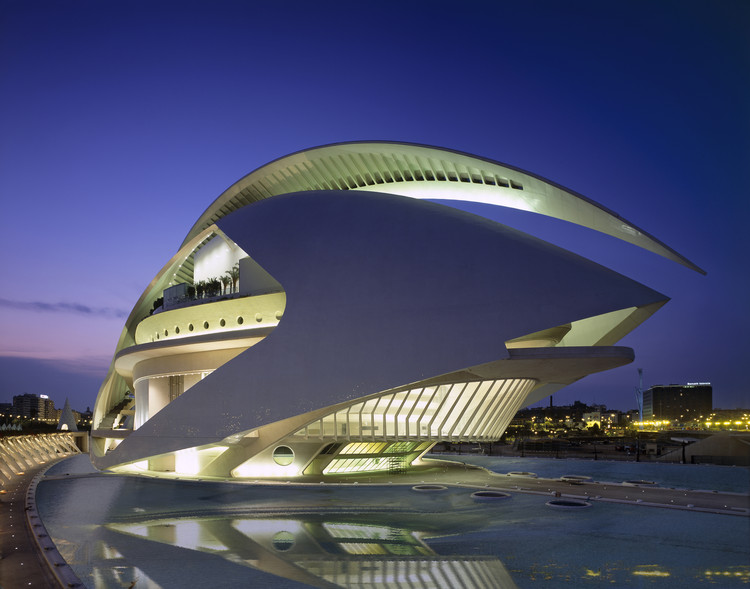 Palau de les Arts Reina Sofía / Santiago Calatrava, © Palladium Photodesign