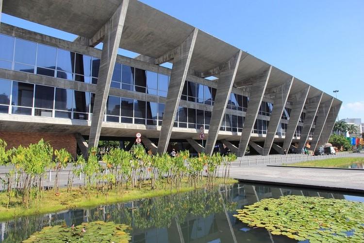 Unesco elege Rio de Janeiro como a primeira Capital Mundial da Arquitetura, Museu de Arte Moderna. Projeto do arquiteto carioca Affonso Eduardo Reidy. Imagem cortesia de CAU/BR
