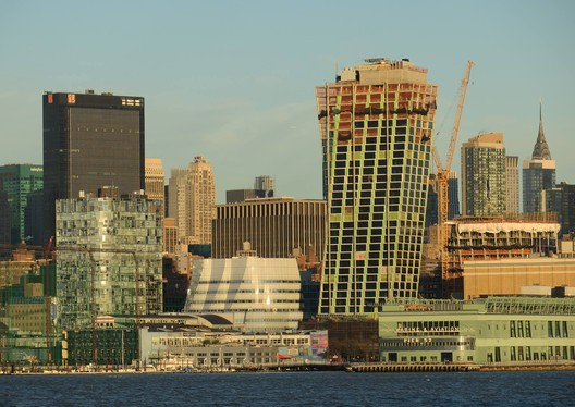 Bjarke Ingels Group's XI / The Eleventh Takes Shape in New York City