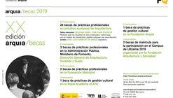 XX Convocatoria Becas Prácticas Profesionales 2019 para jóvenes arquitectos