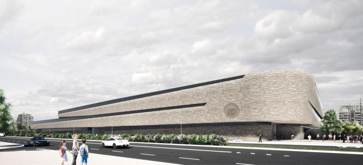 Perkins + Will e ASL Arquitectos projetarão o novo Instituto Hebraico em Santiago, Cortesía de Instituto Hebreo