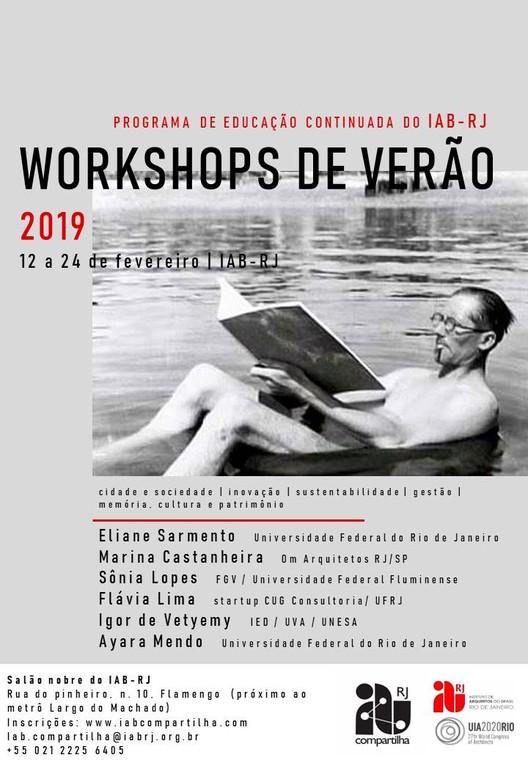 Workshops de verão 2019 do IAB-RJ Compartilha, Workshops de verão 2019 do IAB-RJ Compartilha. Guilherme Ragone