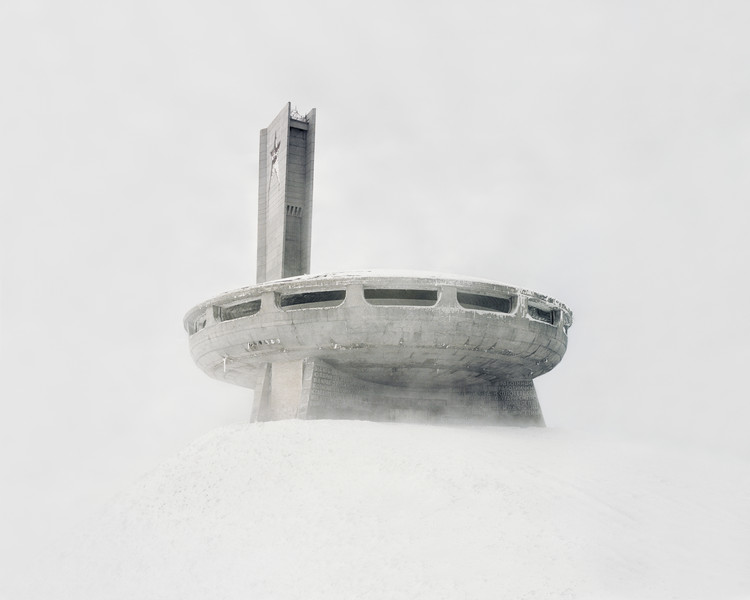 Abandoned Soviet-Era Infrastructure Captured by Danila Tkachenko, An abandoned building in central Bulgaria near the town of Kazanlak. Image © Danila Tkachenko