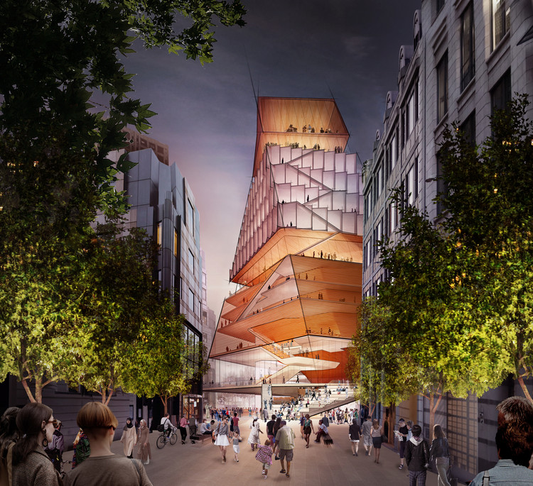 Diller Scofidio + Renfro Reveal New London Centre for Music, Concept Design: Centre for Music. Image Courtesy of Diller Scofidio + Renfro