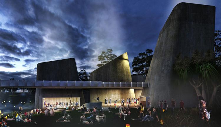 NAAU and Enlocus Set to Transform Australia's Jabiru Mining Town, Jabiru Masterplan. Image Courtesy of NAAU and Enlocus