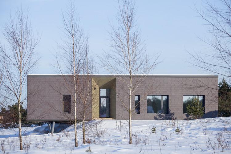 Neris River House / Kubinis metras, © Norbert Tukaj