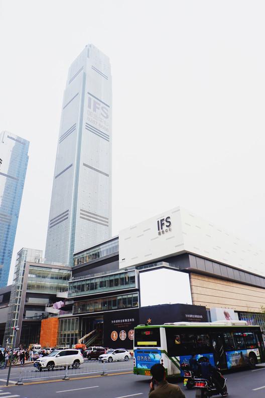 Changsha IFS Tower T1. Image © Chonnakun Tabtong / Shutterstock