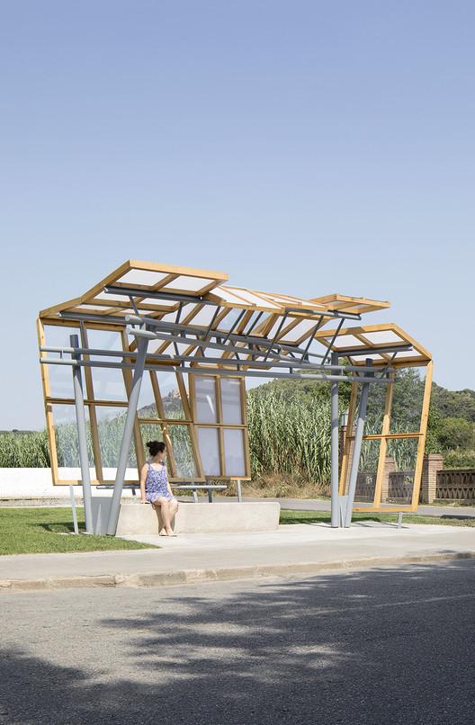 Palafolls Bus Stop / MIAS ARCHITECTS, © Gael del Río