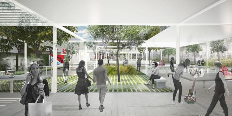 Conoce los proyectos ganadores del concurso Espacios Culturales en Villa Carlos Paz, Argentina, Cortesía de Arquitecta Camila Juaneda