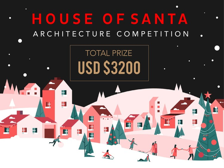 Call for Ideas: House of Santa Architecture Competition, House of Santa Architecture Competition, an ideas competition to create a innovative, sustainable and one of a kind Home for Santa Claus.