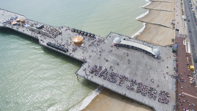 Making it Happen: New Community Architecture, Hastings Pier. Courtesy of dRMM.