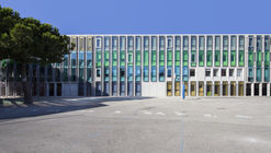 Simone Veil Middle School in Nice / Comte & Vollenweider