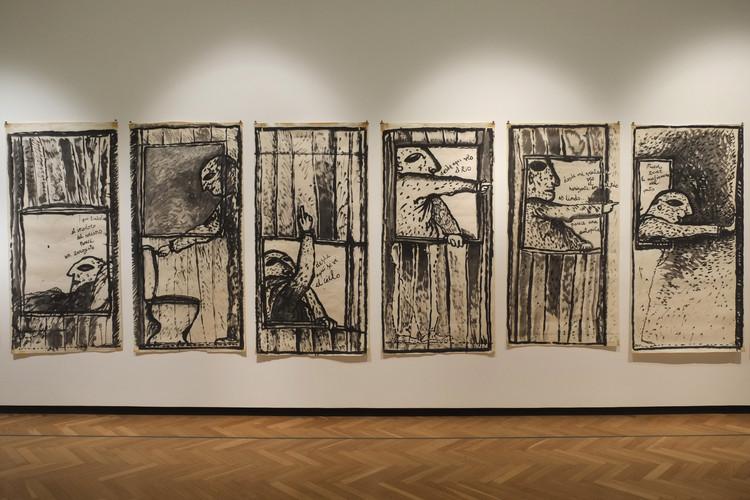 """Clorindo Testa en el Museo Nacional de Bellas Artes: """"Esta es mi casa"""", © Mariana Etulain"""