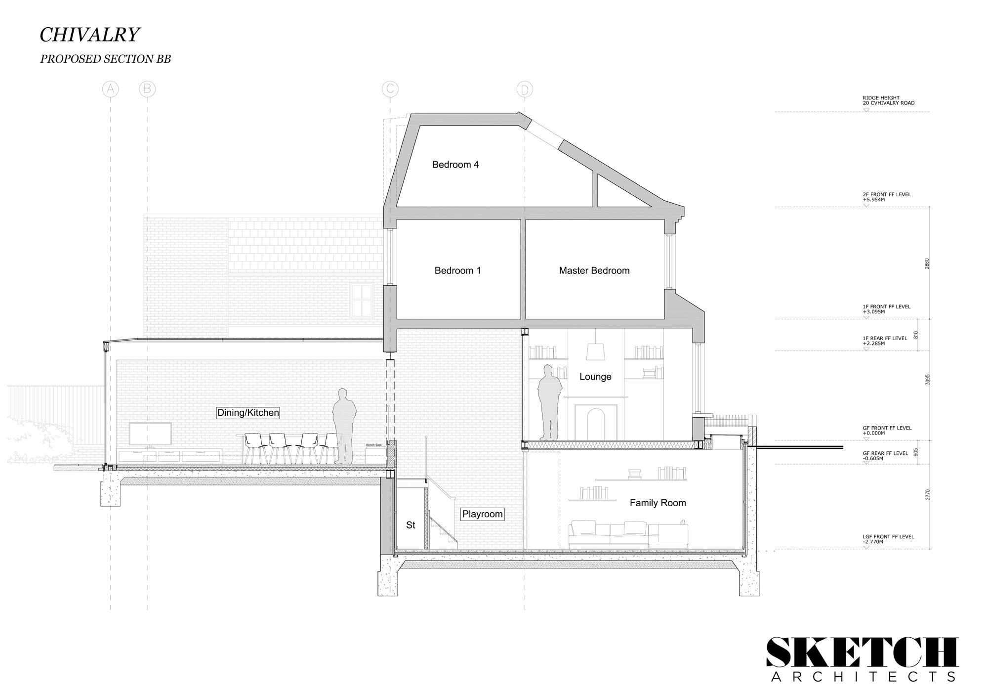 Galeria De Residencia Na Chivalry Road Sketch Architects 19