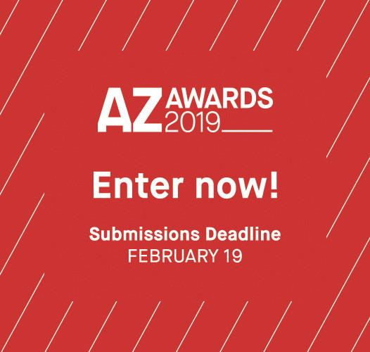Call for Entries: 2019 AZ Awards, Select your best work and enter the 2019 AZ Awards now!