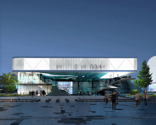South Korean Pavilion. Image Courtesy of SuperSpatial