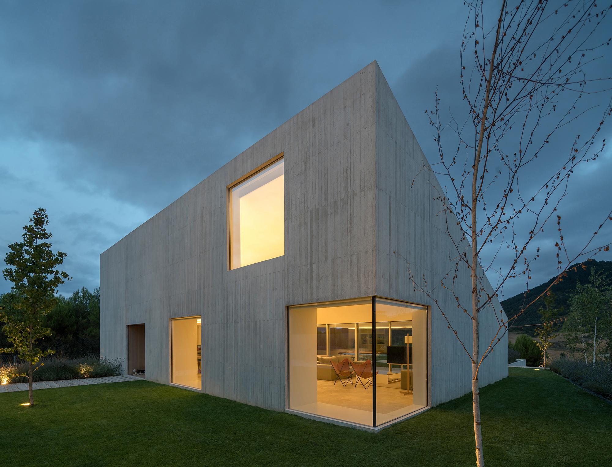 Galer a de vivienda en pamplona pereda p rez arquitectos 15 - Arquitectos en pamplona ...