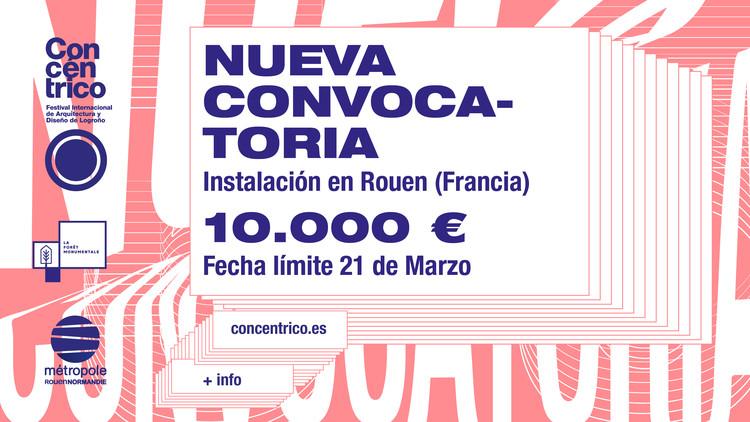 Nueva convocatoria de Concéntrico: instalación en Rouen, Francia