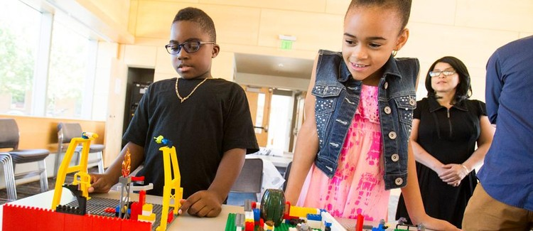 Drop-in Building Challenge: Designing Boston with LEGOⒸ Bricks