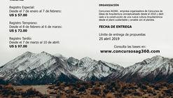 """Convocatoria Concurso Internacional """"Alpine Hostel 2019"""". Concursos AG360"""