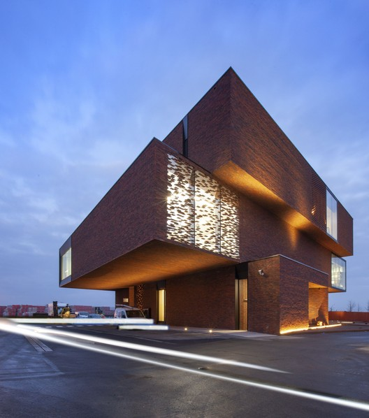 Nelissen Bricks / UAU Collectiv + Architectengroep PSK, © Philippe van Gelooven
