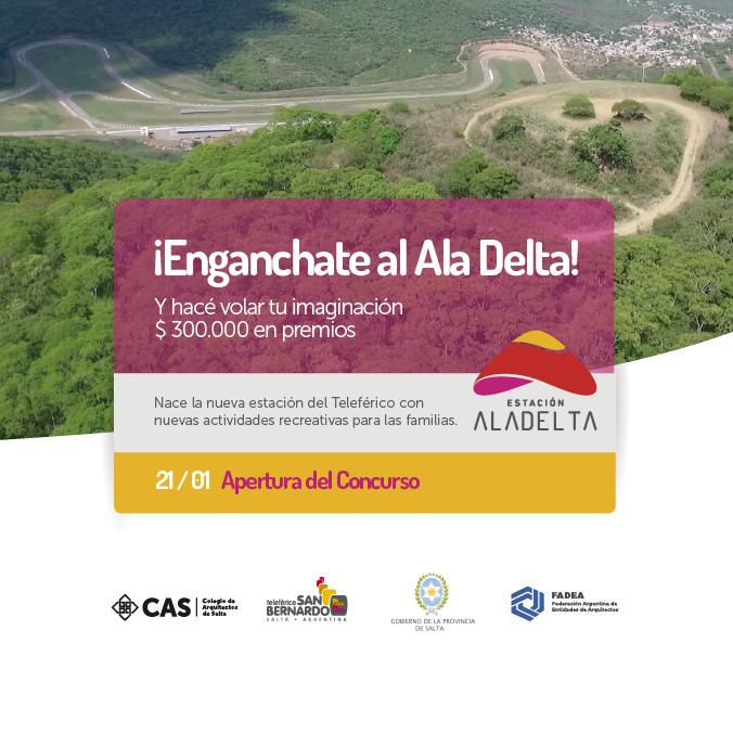 Estación Ala Delta: concurso para ampliación del sistema teleférico en Salta, Argentina, vía Colegio de Arquitectos de Salta