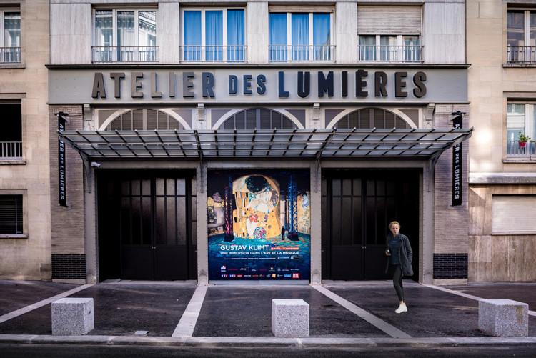 L'Atelier des Lumières / Atelier Silhouette Urbaine, © Culturespaces