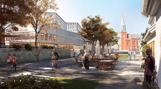 Stavanger Cultural Hub. Image Courtesy of Ghilardi Hellsten, Karres en Brands, PIKS