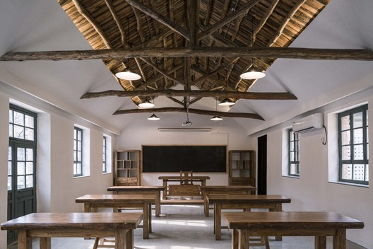 classroom. Image © Weiqi Jin