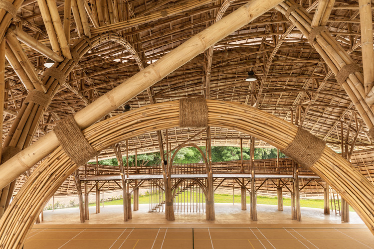 © Alberto Cosi. ImageBamboo Sports Hall for Panyaden International School / Chiangmai Life Construction