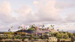 Jean Nouvel + OXO Architectes design Mountainous Mixed-Use Campus in Antibes