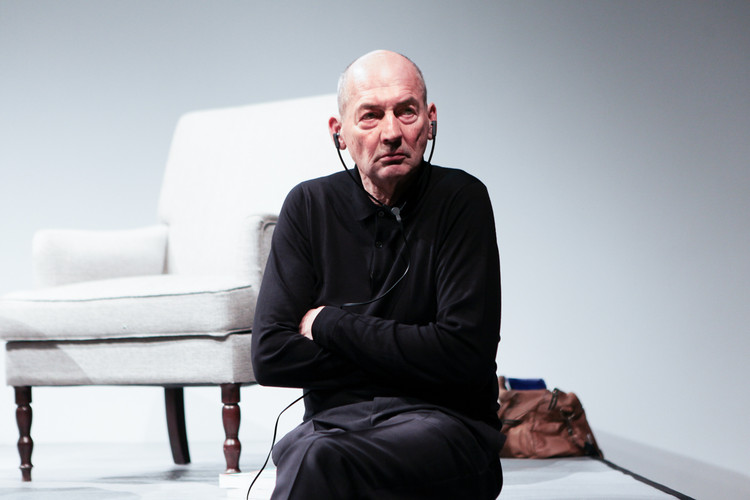 Rem Koolhaas Featured on Electronica Band Tempers' New Album, Rem Koolhaas. Image via Wikimedia
