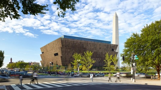 Smithsonian National Museum of African American History and Culture. Image © Alan Karchmer