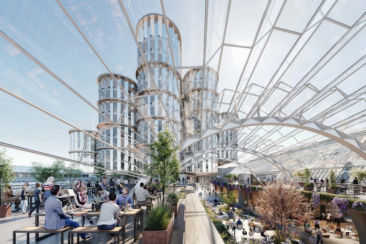 Heatherwick Studio's Olympia London Receives Planning Permission, Olympia London. Image Courtesy of Heatherwick Studio