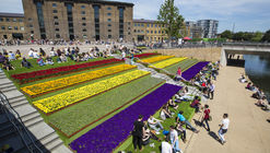 Corredor del Canal Regent, en King's Cross / Townshend Landscape Architects