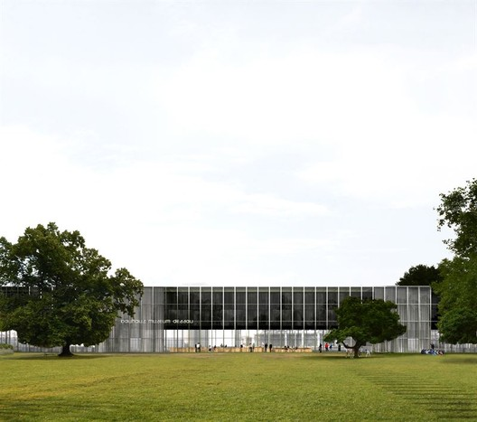 Bauhaus Museum Dessau. Image Courtesy of goBauhaus