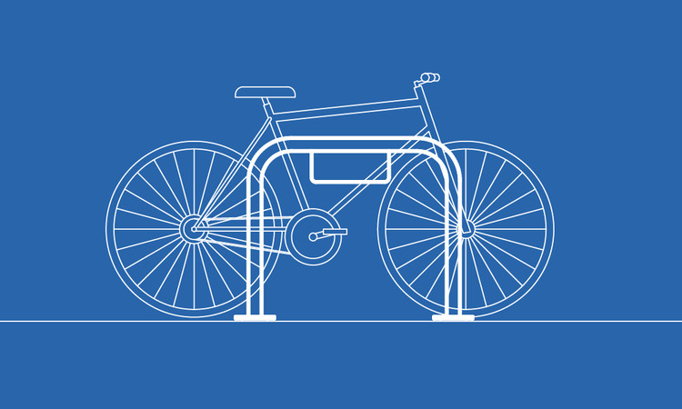 Guía de diseño: Estacionamientos de bicicletas, © Eduardo Souza