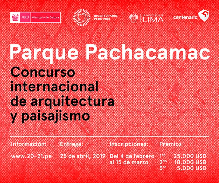Parque Pachacamac: Concurso de Arquitectura y Paisajismo en Lima