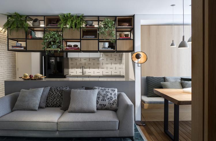 Apartamento AN / Rua 141 + Rafael Zalc, © Romulo Fialdini