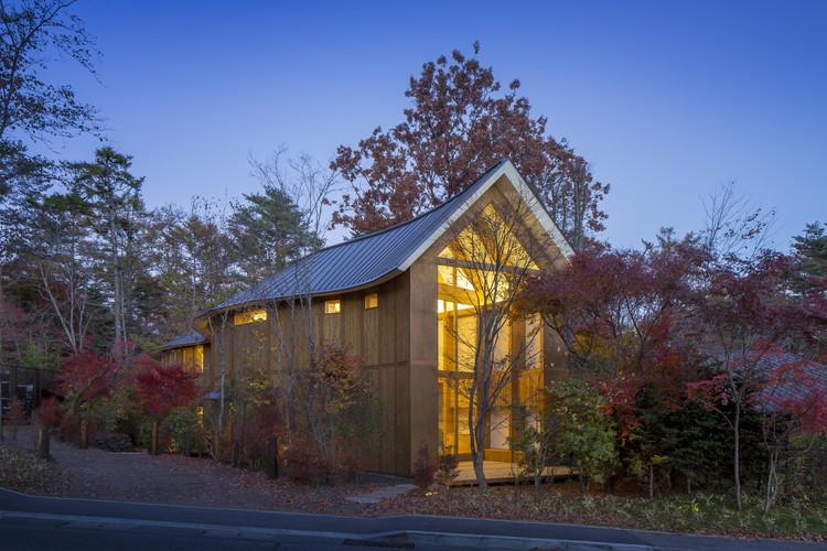 Shishi-Iwa House / Shigeru Ban Architects, © Hiroyuki Hirai