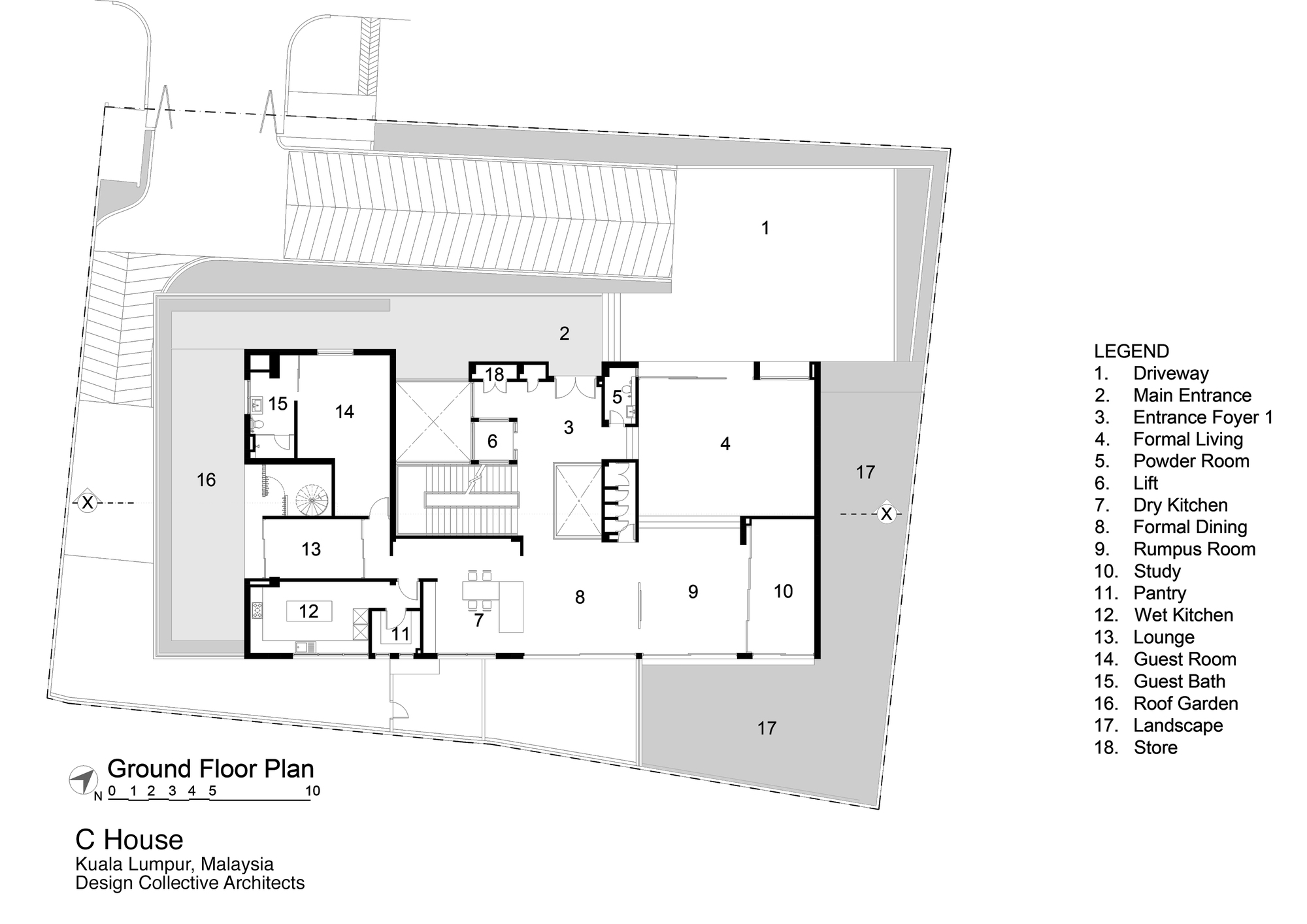 Gallery Of C House Design Collective Architect 28